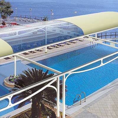 Tensile Swimming Pool Covering Lonjer