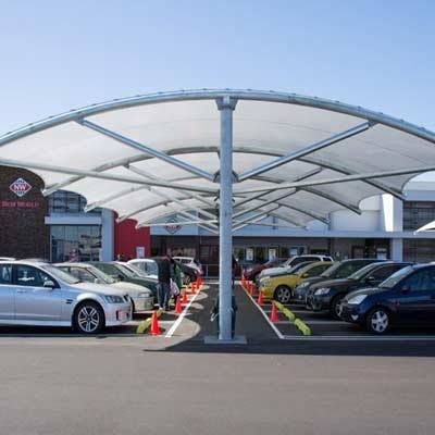 Car Parking Shed Suppliers in Rajasthan