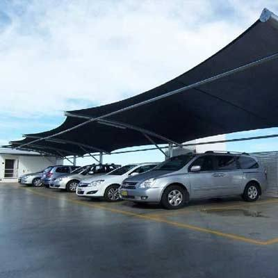 Tensile Car Parking Structure Manufacturers in Gujarat