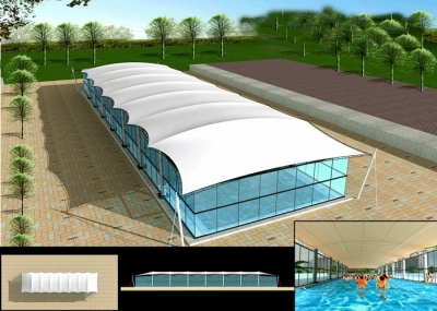 Tensile Swimming Pool Covering Structure Manufacturers in Jharkhand