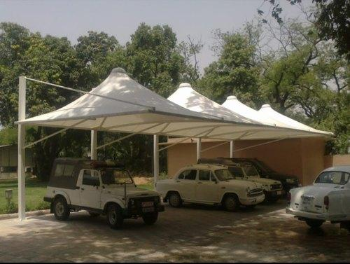 Car Parking Tensile Structure Manufacturers in Sikkim