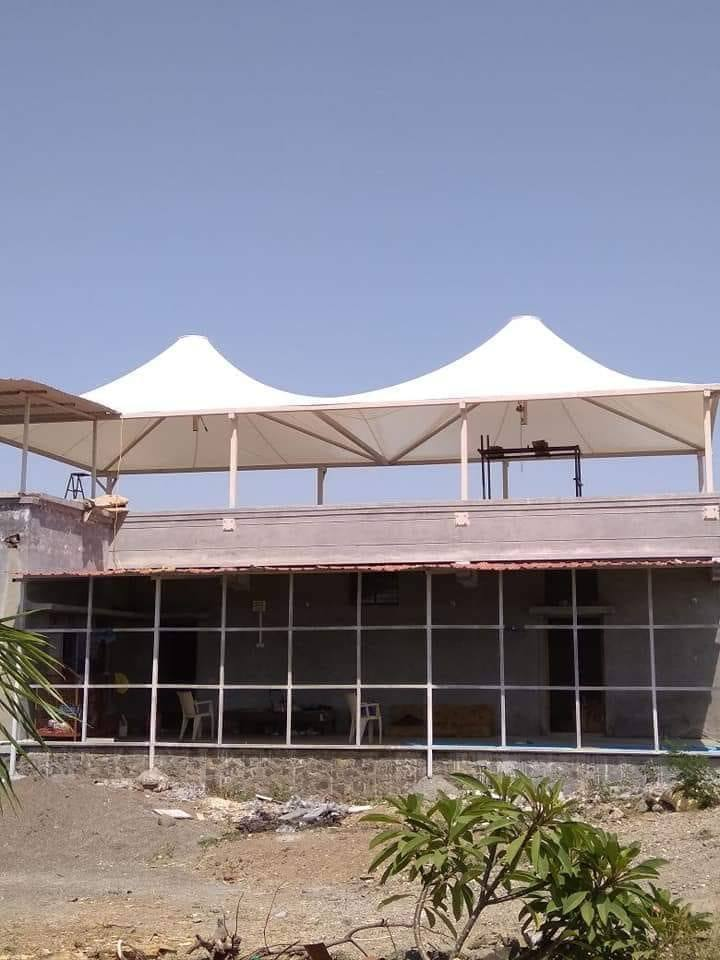 Tensile Cone Structure-1 Manufacturers in Goa