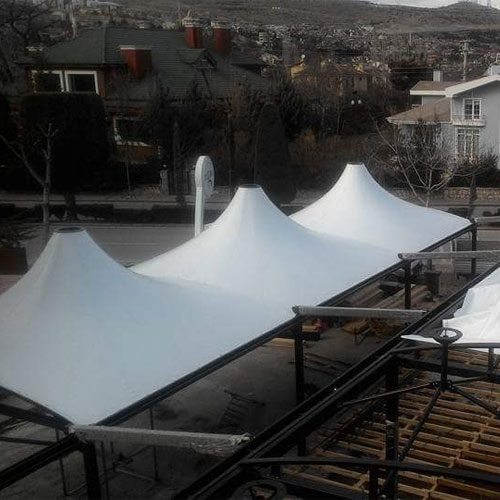 Tensile Cone Structure Manufacturer in Delhi