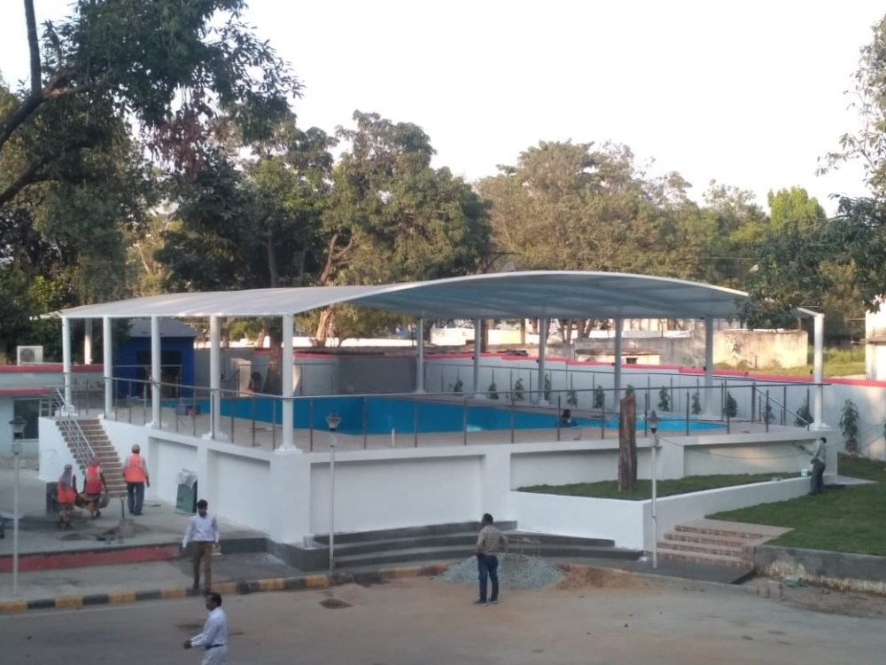Tensile Swimming Pool Covering Structure Manufacturers in Kanpur