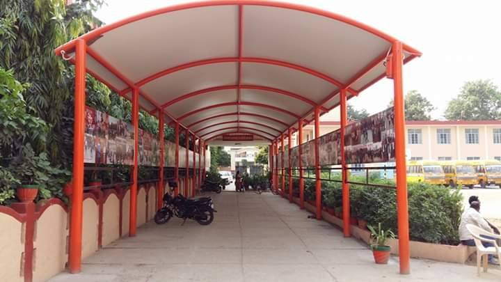 Tensile Walkway Structure-1 Manufacturers in Tamil Nadu