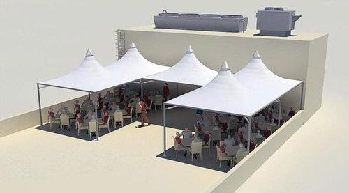 Tensile fabric Structure Manufacturers in Sikkim