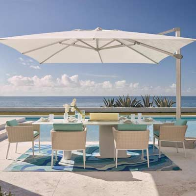 Cantilever Tensile Umbrella Structure