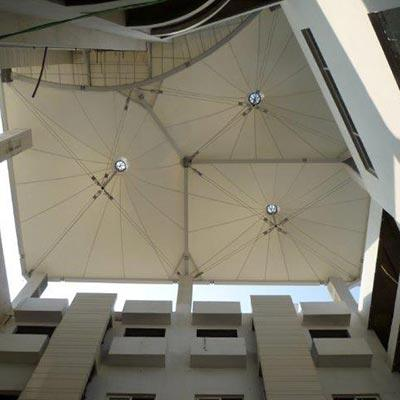 Tensile Skylight Structure
