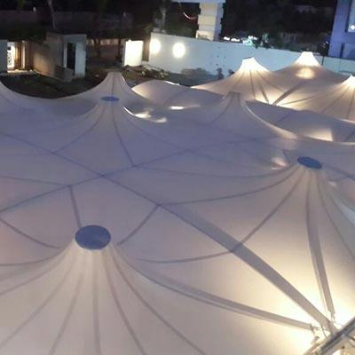 Tensile Pagoda tent Structure