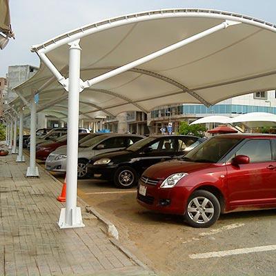 Multiple Car Parking Tensile Structure