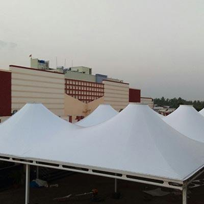 Gazebo tensile Structure for Commercial