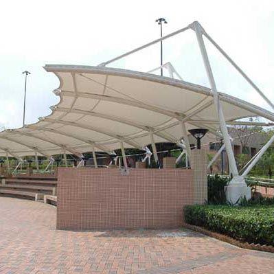 Modular White park Tensile Structure