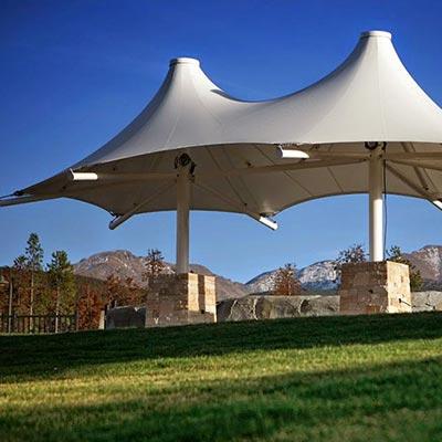 Tensile Gazebo Structures